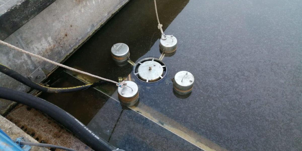 Beitragsbild zu: Öl auf Gewässer