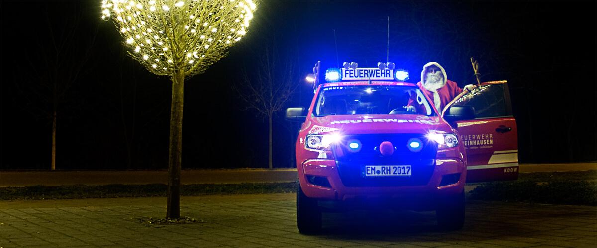 Beitragsbild zu: Weihnachtsgrüße der Feuerwehr Rheinhausen