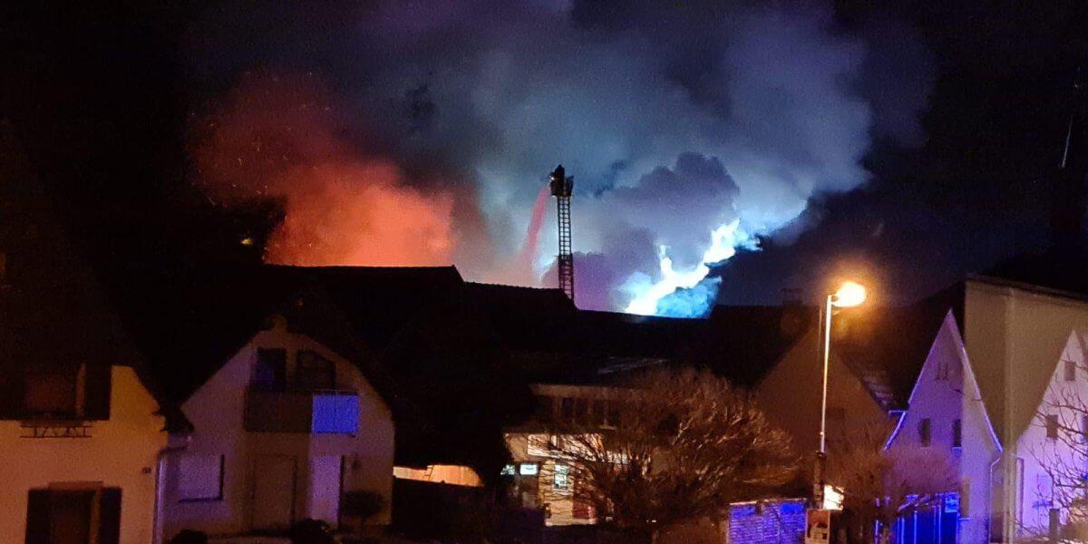 Beitragsbild zu: Einsatz Nr. 9/2021: Gebäudebrand