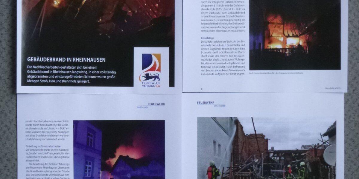 Beitragsbild zu: Gute und sachliche Pressearbeit der Feuerwehr