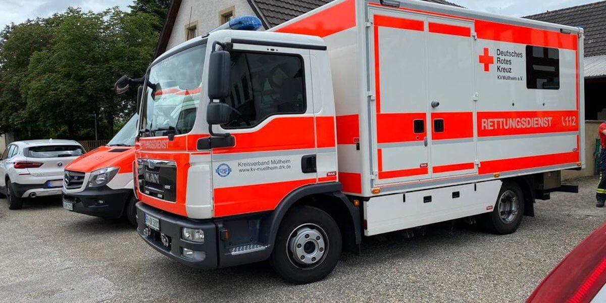 Beitragsbild zu: Einsatz Nr. 25/2021: Unterstützung Rettungsdienst