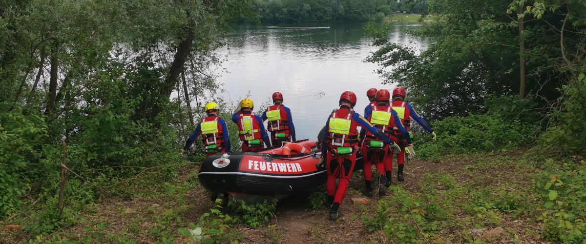 Beitragsbild zu: Übung der Wasserrettungsgruppe