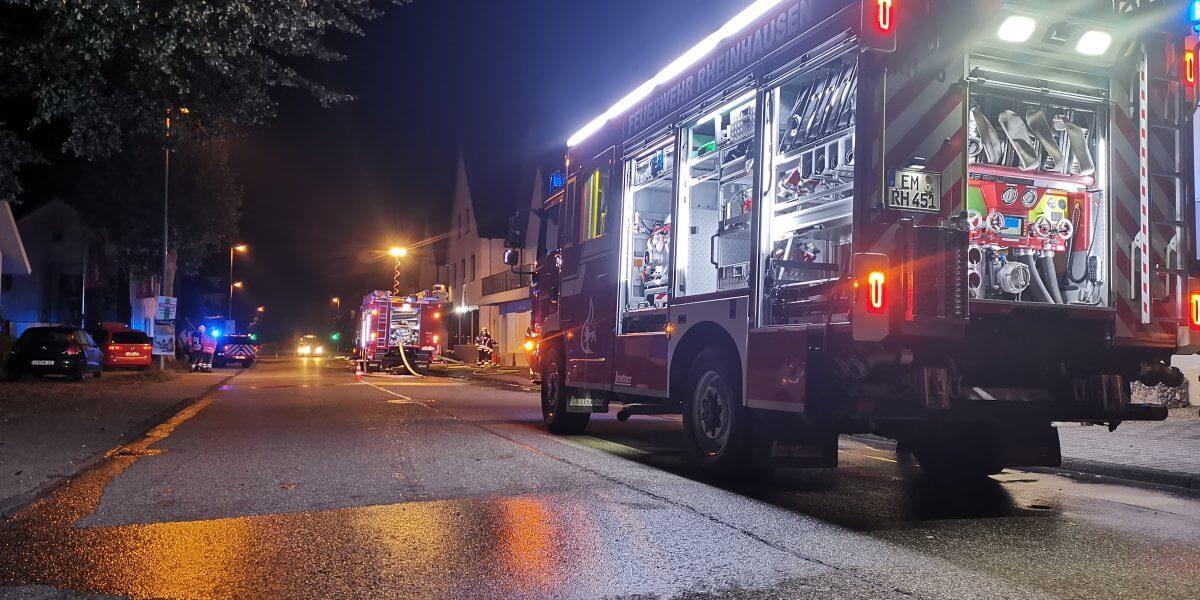 Beitragsbild zu: Einsatz Nr. 46/2021: Gebäudebrand, B3 DLK